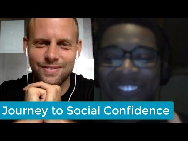 The Journey to Social Confidence (promo with a former social anxiety sufferer)