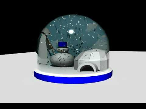 Bola cristal nieve youtube - Bola nieve cristal ...