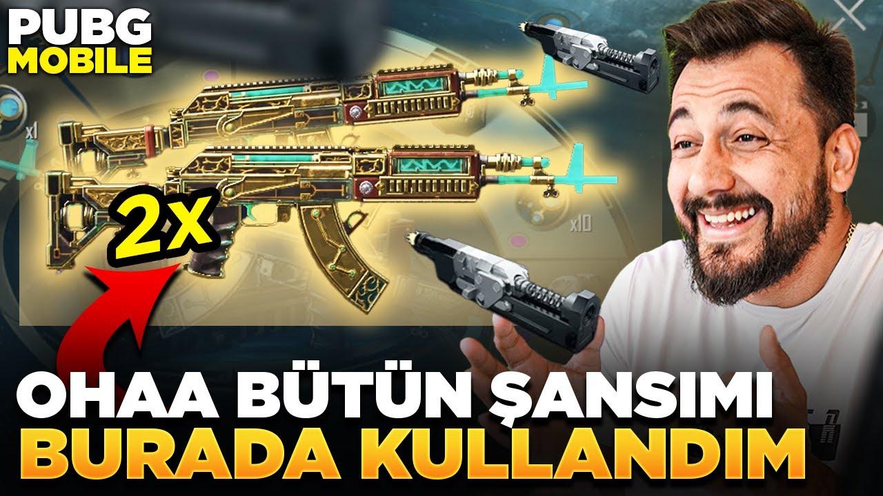 Download OHAAA BÜTÜN ŞANSIMI BURADA KULLANDIM / PUBG MOBILE