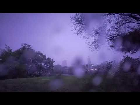Severe thunderstorm at Five Islands Park, New Rochelle  (5/10/2018)