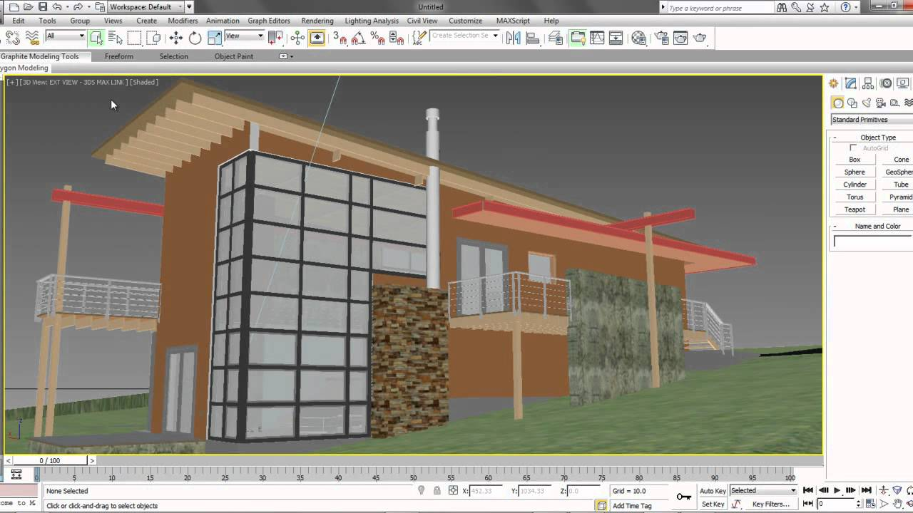 Autodesk 3ds max design 2013 revit linking youtube for 3ds max design