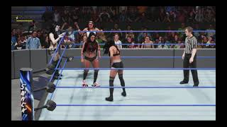 WWE 2K19 The Bella Twins + Paige VS The IIconics + Alicia Fox