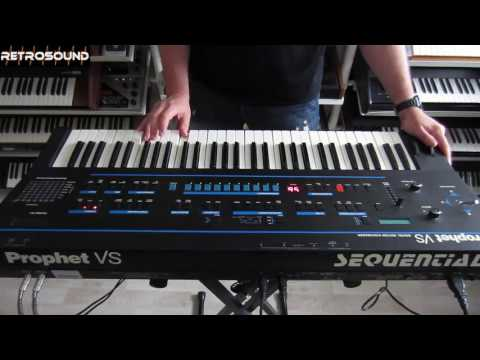 Sequential Prophet VS - Vector Synthesizer (1986) *Video Games* crime soundtrack style