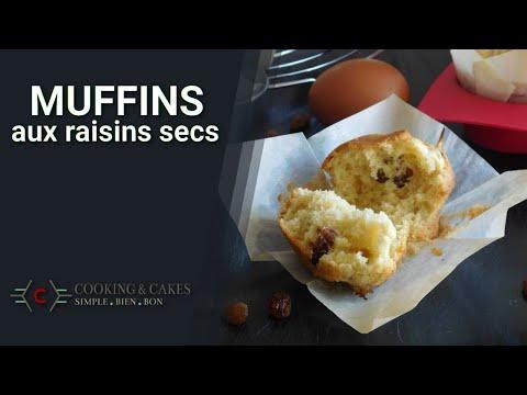 recette-des-muffins-moelleux-aux-raisins-secs