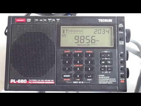 Degen DE1103 VS Tecsun PL680 on Radio Japan Shortwave