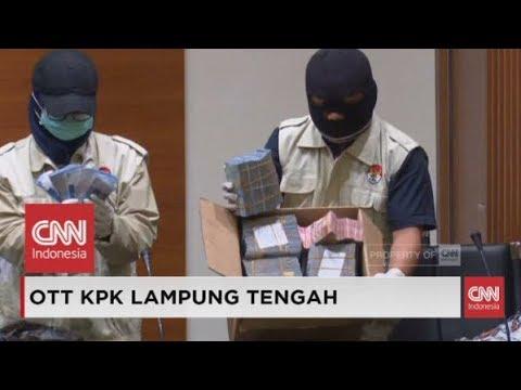 FULL - KPK Amankan 19 Orang dalam OTT Bupati Lampung Tengah