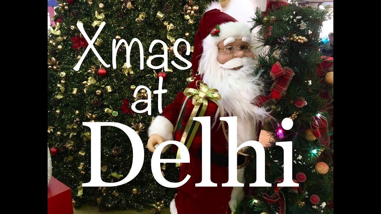 Christmas Celebration In Delhi Select City Festive Walk India Youtube