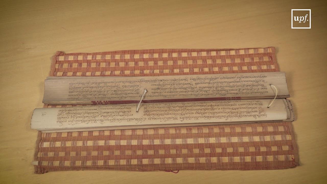 Uno de los pergaminos expuestos