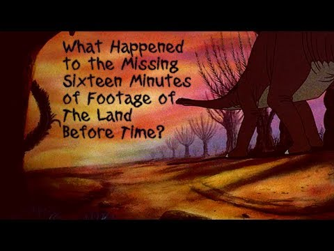 The Secret Story Of The 16 Missing Minutes Of The Land Before Time