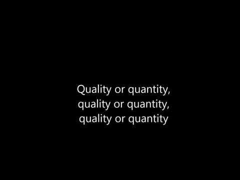 Bad Religion - Quality or Quantity [Lyrics]
