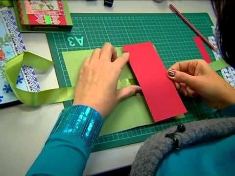 видео: Открытка шоколадница своими руками