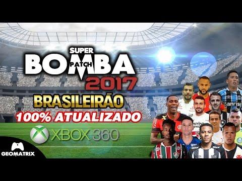 Super bomba patch 2017: brasileirão (xbox360) youtube.