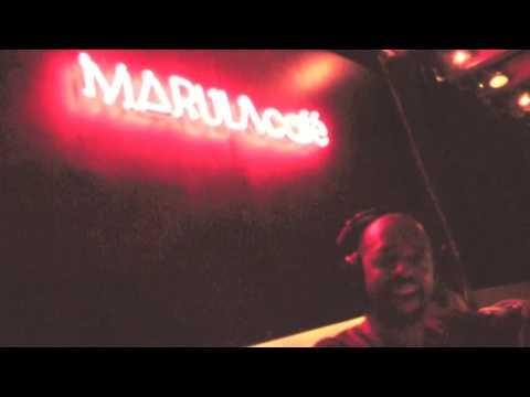 dj Nappy G at Marula Cafe (Barcelona,Spain)