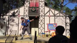 Paolo Garbanzo at the 2016 Louisiana Renaissance Festival