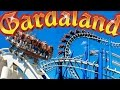 Gardaland (Italy) HD Amusement Park Video - Oblivion, Raptor, Mammut, Roller coasters,...