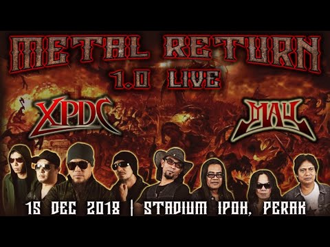 [ LIVE ] Press Conference: Konsert Metal Return 1.0 LIVE XPDC MAY