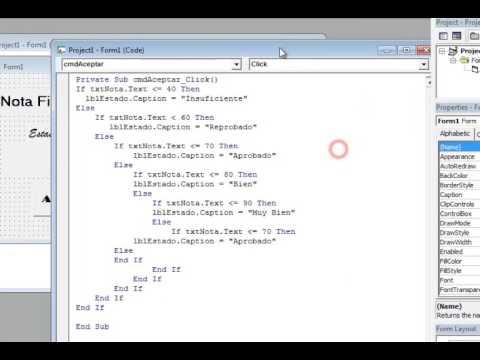 Select Case E If Anidado Visual Basic