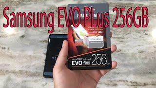 Samsung Evo Plus Micro SDXC 256GB Memory Card Note 7