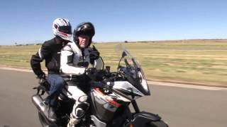 Riding tip; Carrying a Pillion