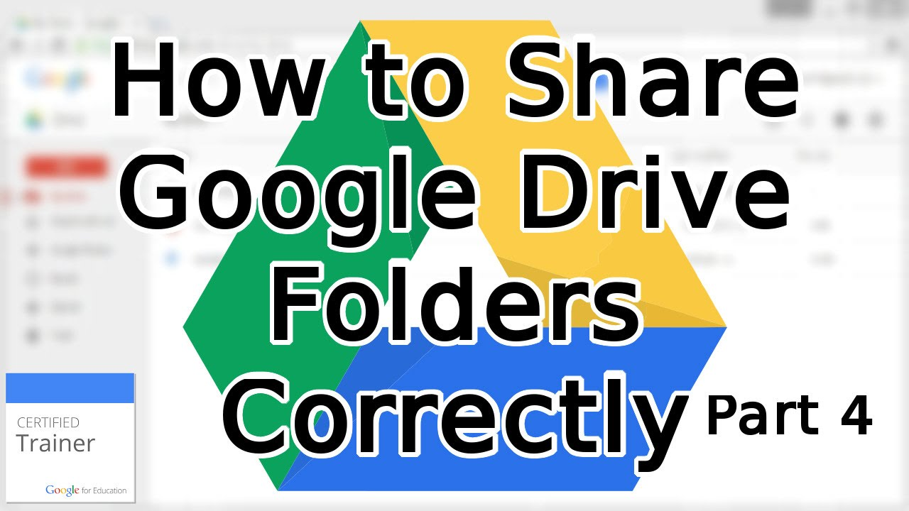 tutorial how to share google drive folders and share permissions 2015