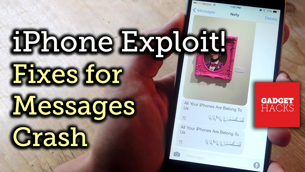 iPhone Messages App Keeps Crashing? Here's How to Fix It « iOS