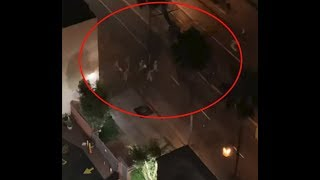 SPECIAL FORCES RAID VIA BLACKHAWK HELOS ON BIOLOGICAL WEAPON DOWNTOWN LOS ANGELES