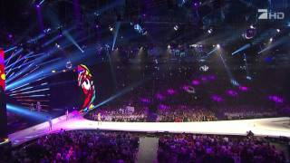 Keri Hilson - Pretty Girl Rock (Live Next Topmodel Final 2011)