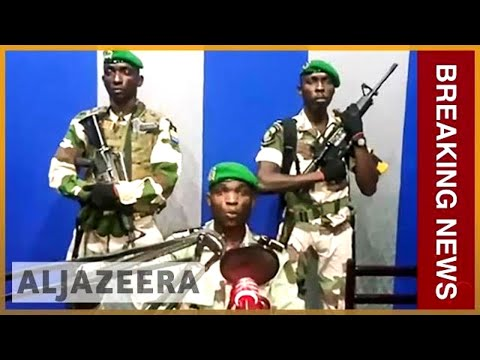 🇬🇦Gabon soldiers seize national radio station in coup attempt l Al Jazeera English