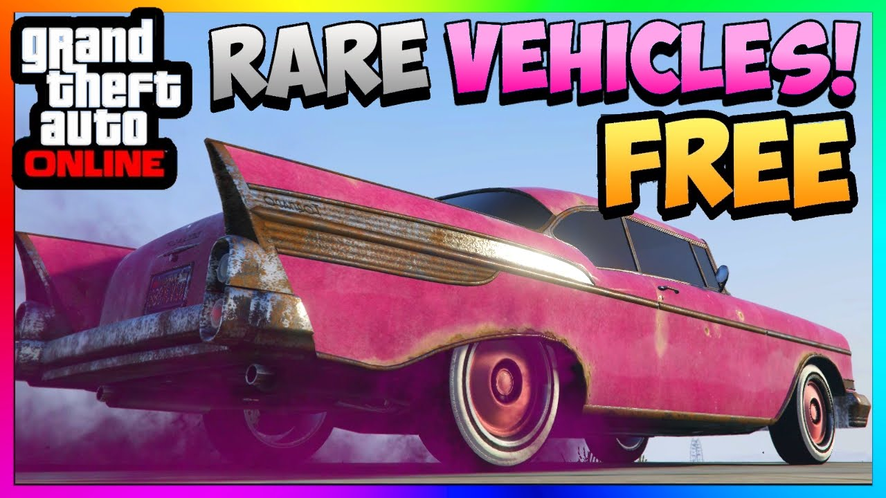 Gta 5 Online Store Rare Cars For Free New Rusty Tornado Spawn