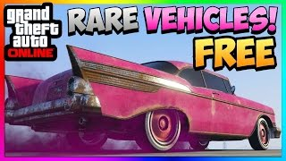 GTA 5 Online: STORE RARE CARS FOR FREE! - NEW