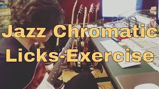 Jazz Licks - C Major mode chromatic exercises | A Aeolian - F Lydian - G Mixolydian | Kit Tang
