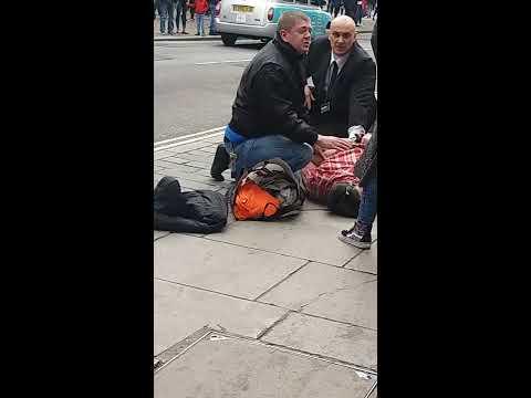 Arrested in Oxford Street in london