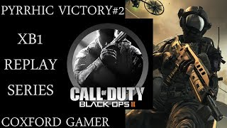 Let's Play Call Of Duty Blackops 2 Campaign Mission Pyrrhic Victory XB1 Replay Playthrough.