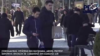 CORONAVIRUS: CETĂȚENII DIN NUCȘOARA, ARGEȘ, PROTEST ÎMPOTRIVA CENTRELOR DE CARANTINĂ DIN COMUNĂ