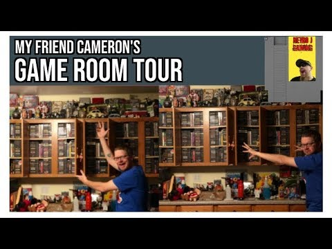"""GAME ROOM TOURS - """"Cameron's Game Room"""""""