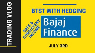 Bajaj Finance Futures Intraday and Positional Hedging