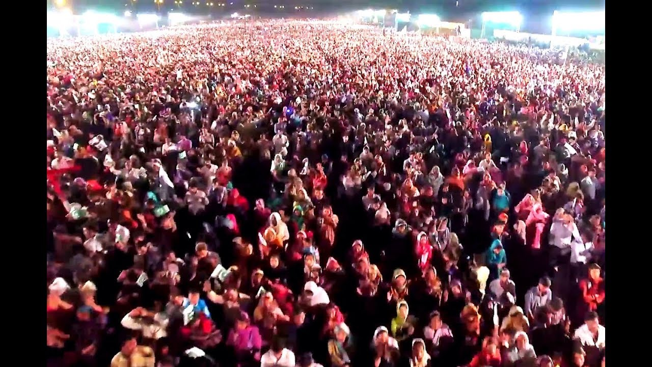 A Million Muslims Filled the Streets to Hear About Jesus