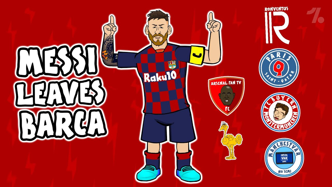 Which of these clubs would Lionel Messi leave Barcelona for? ► 442oons