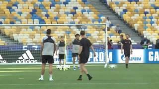 Mira el entrenamiento del Liverpool previo a la final de Champions League ante Real Madrid