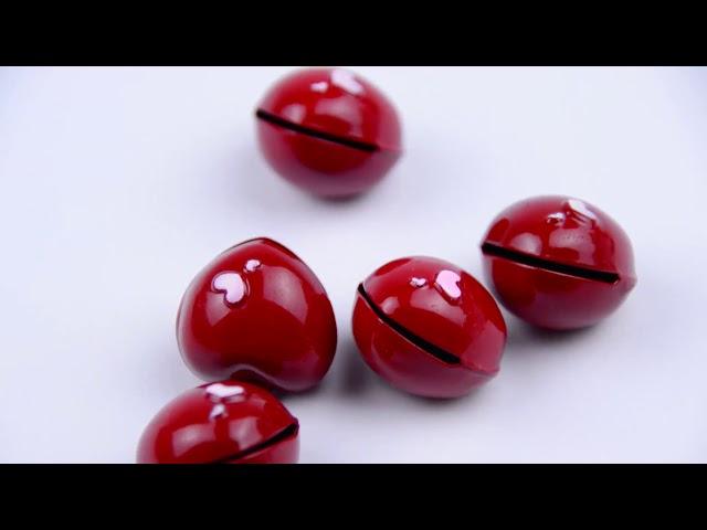 Son du grelot en forme de coeur www.lesfillesapois.fr