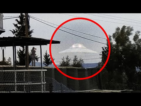 UFO Landing Caught on Tape | Beirut Lebanon
