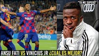 ANSU FATI VS VINICIUS JR , EN 60 MINUTOS ANFU SUPERÓ AL DEL MADRID ¡INCREÍBLE!