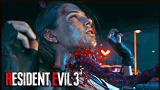 RESIDENT EVIL 3 Remake All Death Scenes & Alternate Ending | Bad Ending