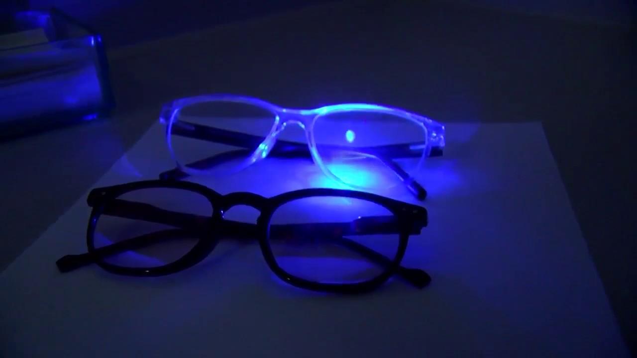 Blue Light Lens Demonstration Youtube