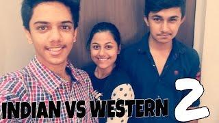 INDIAN VS WESTERN (gujarati version)
