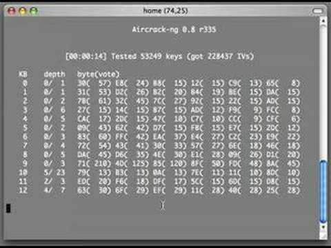aircrack-ptw windows 7
