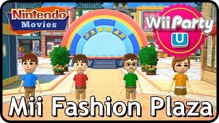 Wii Party U - Mii Fashion Plaza (2 players, Master Difficulty)