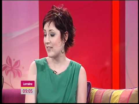 Connie Fisher on Lorraine.  Interview 24/4/12