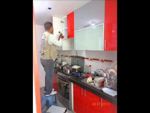 Muebles de cocina lima peru youtube for Muebles de cocina peru