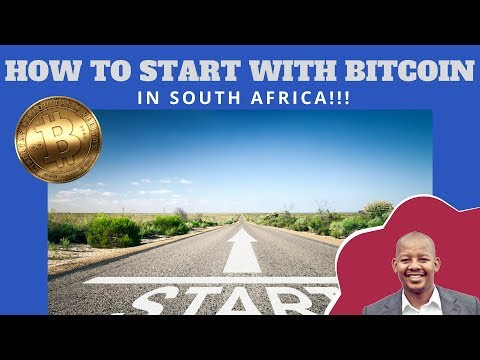 How To Get Started With Bitcoin In South Africa